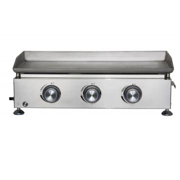 Stainless Steel 3 Burner Outdoor Gas Griddle