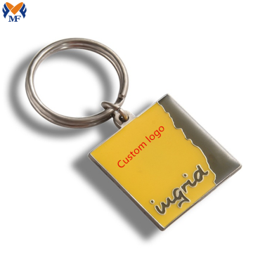 Metal Craft Genie Soft Enamel Keychain