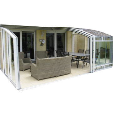Sunroom Prefabricated Home Roofing Retractable Sun Room