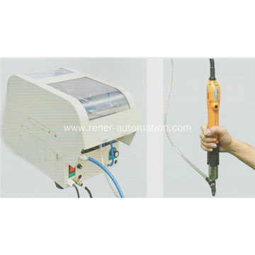 Handheld electric screw driving machine