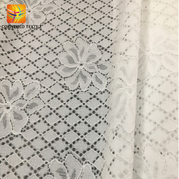 Wonderful air permeable lace fabric for dress making