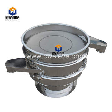 Hot sale stainless steel vibrating screen for food