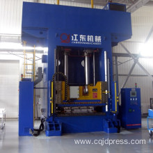 Automobile interior composite hydraulic press