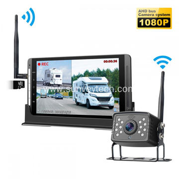 7 Zoll DVR Monitor an Backupkamera Wireless Digital System