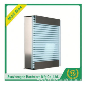 SMB-072SS Factory Hot Selling Galvanized Steel Material Apartment Parcel Mailbox
