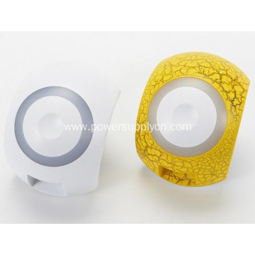 2.1A Dual USB Charger With LED Night Lamp