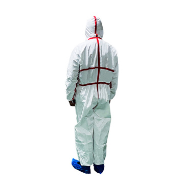 Biological Protection Full Body Safety Isolation Gown Suit