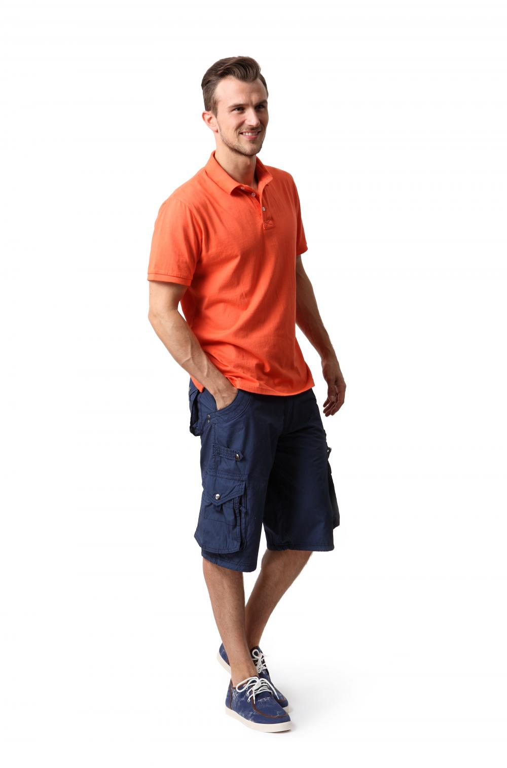 Men's cotton chino shorts