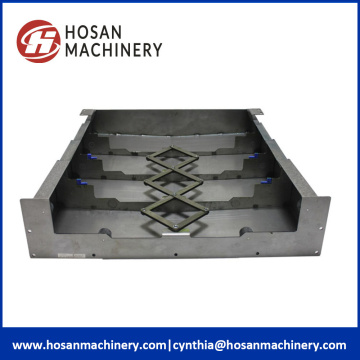 Telescopic Steel Bellow Way Covers For Stone Machinery