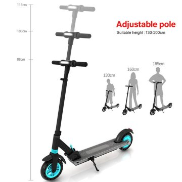 Waterproof For Teen Shrottle Works Electric Scooter