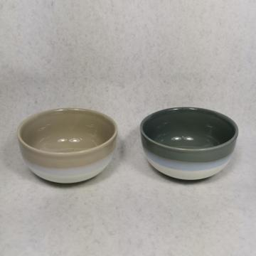 Reactive Glaze Stoneware bowl and mug