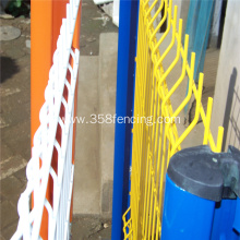 Outdoor Galvanized PVC Coated Panel Welded Fence