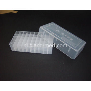 Plastic Cryovial Tube Box 50goed
