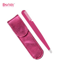 Slanted Professional Comfortable Comb Eyebrow Tweezer