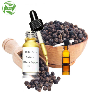 OEM Natural Organic 100% Pure Black Pepper Oil