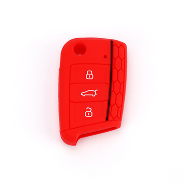 New Car Auto Silicone VW 3 Buttons