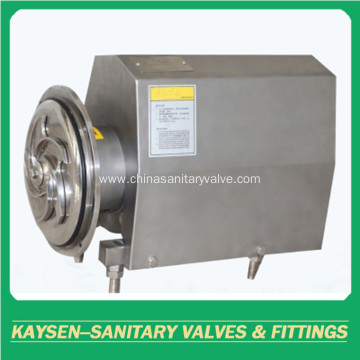 Sanitary square cover open impeller centrifugal pump