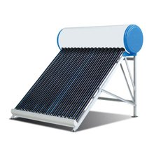 Solar hot water tank for hot water
