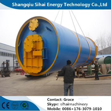 380V Voltage Tire Recycling Pyrolysis Plant