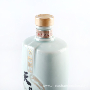 Tian Chun Wine  filled in glass bottles