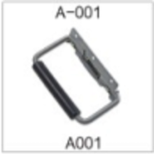 Plastic Door Handle Al-Alloy Handle