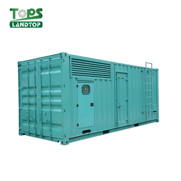 1000KW Cummins Engine Diesel Generator Power Plant