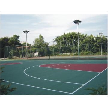 High Elasticity Silicon PU Elastic layer QT Courts Sports Surface Flooring Athletic Running Track
