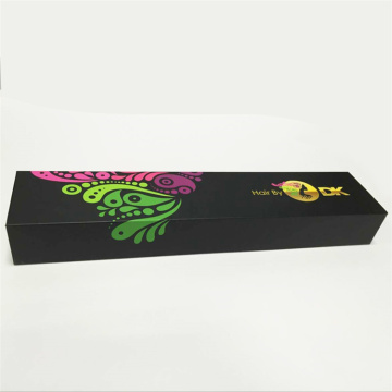High Quality Luxury Foldable Paper Hair Packaging Box