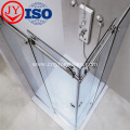 Top Glass Enclosed Simple Sliding Door Shower Room