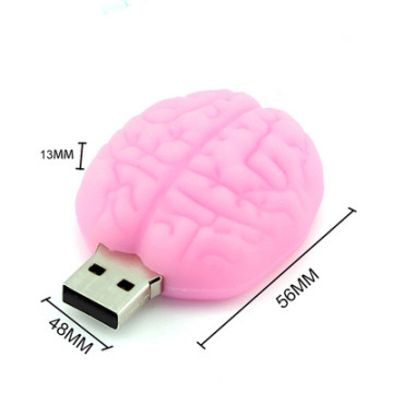 Customized Brain Shaped USB Flash Drive