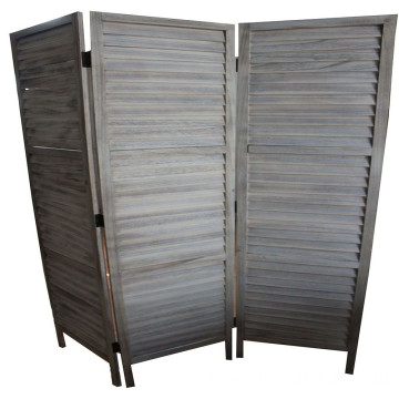Folding wooden screen soundproof folding room for living room and dining room