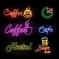 COFFEE BAR NEON LIGHT SINGS