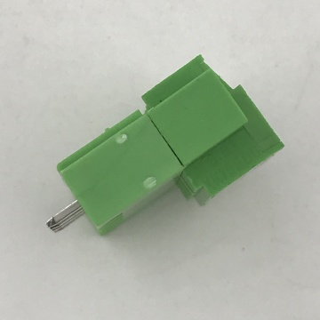 straight pin pluggable terminal block with fixed screws