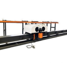 Large CNC double head vertical rebar bending center