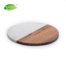 Customized Marble Acacia Wood Cutting Board