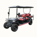 2 seats custom lifted electric golf carts