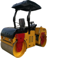 hydraulic vibration double steel wheel 3t two drum  road roller