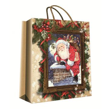 CHRISTMAS SERIES KRAFT GIFT BAG5-0