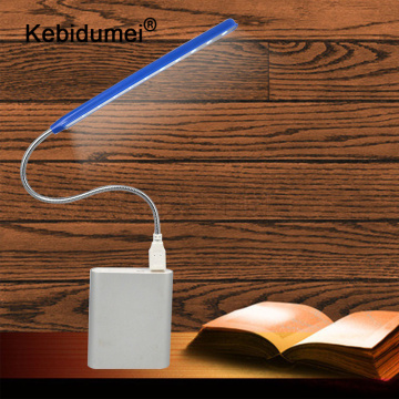 kebidumei Newest Flexible Ultra Bright Mini 10 LEDS USB Light Computer LED Lamp For PC Laptop Computer Convenient for reading