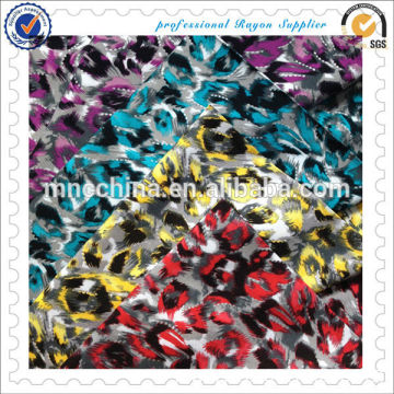 Rayon Twill 100%rayon Printed Fabric With MTL