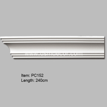 Pu Crown Cornice Mouldings For Wall