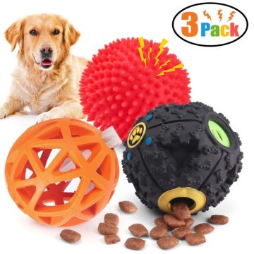 Dog Treat Dispenser Toy Ball