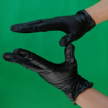 Medical disposable vinyl gloves vinyl powder free gloves