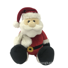 Plush Santa Merry Christmas