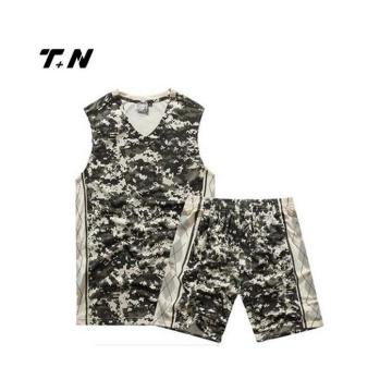 Sublimation Basketball Uniform Custom Team Basketball Wear Wholesale Latest Best Design Basketball Jersey