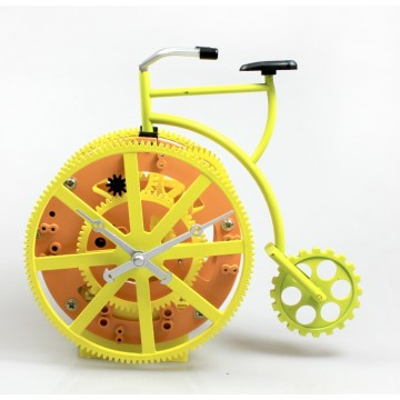 Retro Bicycle Gear Desk Clock