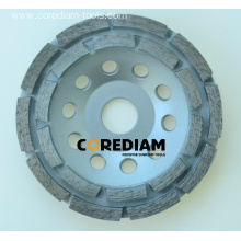 High Performance Double Row Grinding Cup Wheel