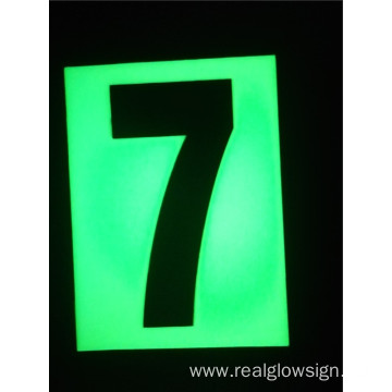 Realglow Photoluminescent  Flat Number 7