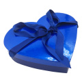 Custom Thick Cardboard Heart Shaped Candy Box Packaging