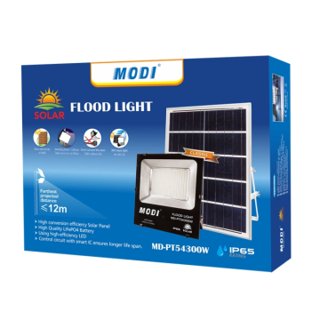 high quality garden light with solar panels